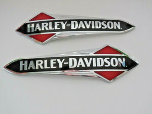 Harley-Davidson-Tankschilder-Tankembleme-Tank-Embleme-14100957-amp-14100958