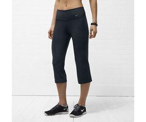 Nike Women S Dri Fit Legend 2 0 Slim Fit Yoga Capri Pants Save 45 Xs Ebay