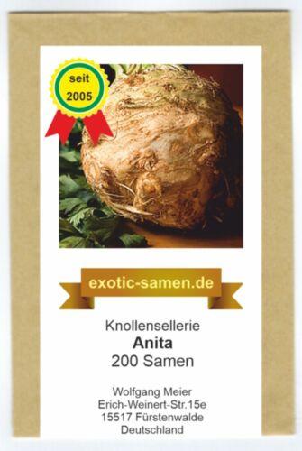 Céleris-raves-ANITA-Apium graveolens Var Rapaceum 200 graines