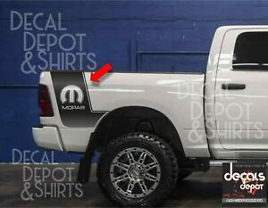 Dodge-Ram-1500-2500-Hemi-Performance-2-Rear-Beds-Vinyl-Decals-Graphics-MOPAR-5-7