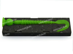 Molds for making soft plastic lures Swimming Ribster replica