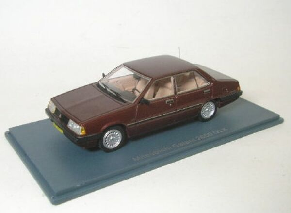 Mitsubishi Galant (Brown Metallic) 1981