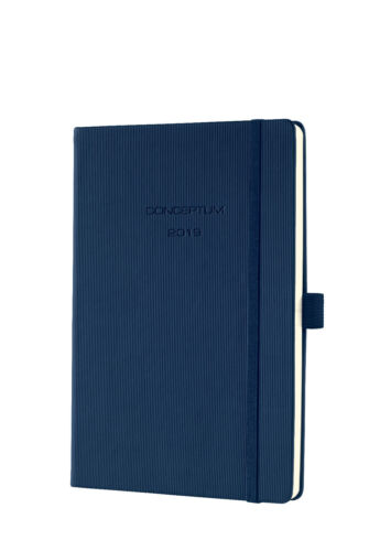 ca SIGEL C1962 Wochenkalender CONCEPTUM® 2019 Hardcover midnight blue 192S A5