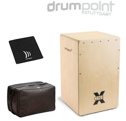 Schlagwerk Cajon X-One CP-101 Nature inkl Tasche und Sitzpad   *SONDERANGEBOT*
