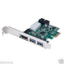 New External eSATA 6Gbps + 2 ports USB 3.0 +19 Pin USB Header Combo PCI-E Card