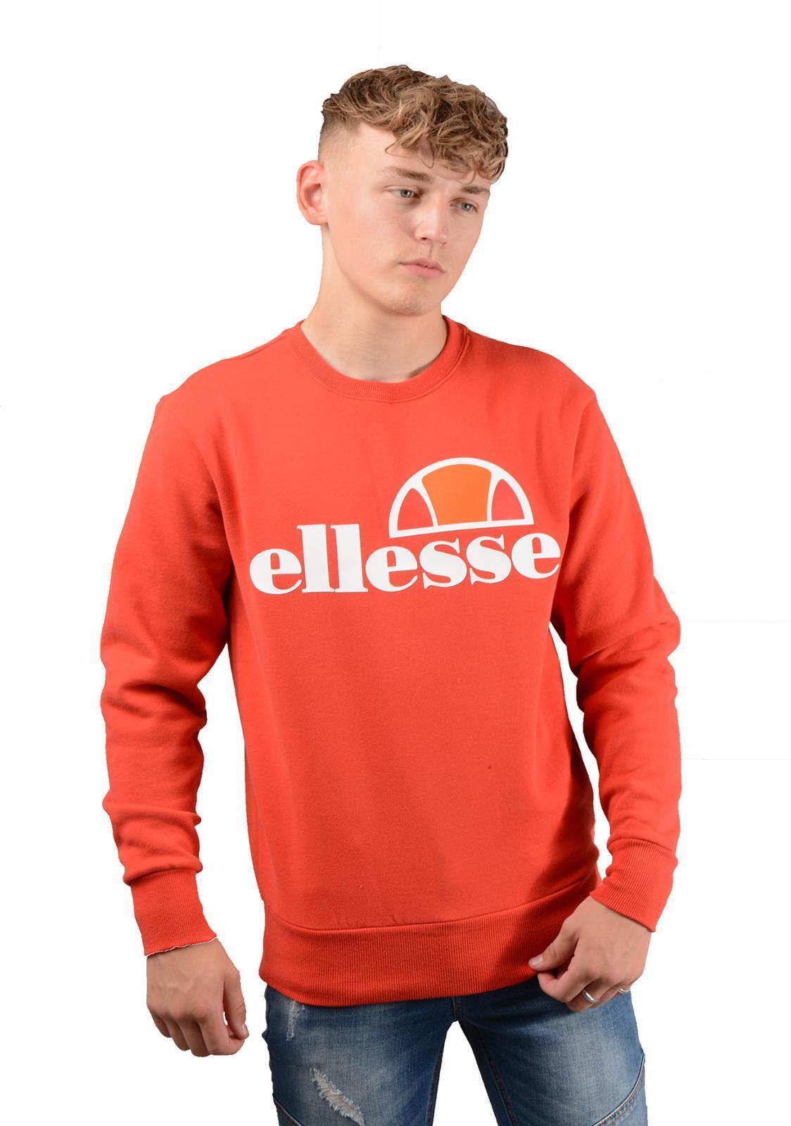 Ellesse Succisso Mens Sweatshirt in Red