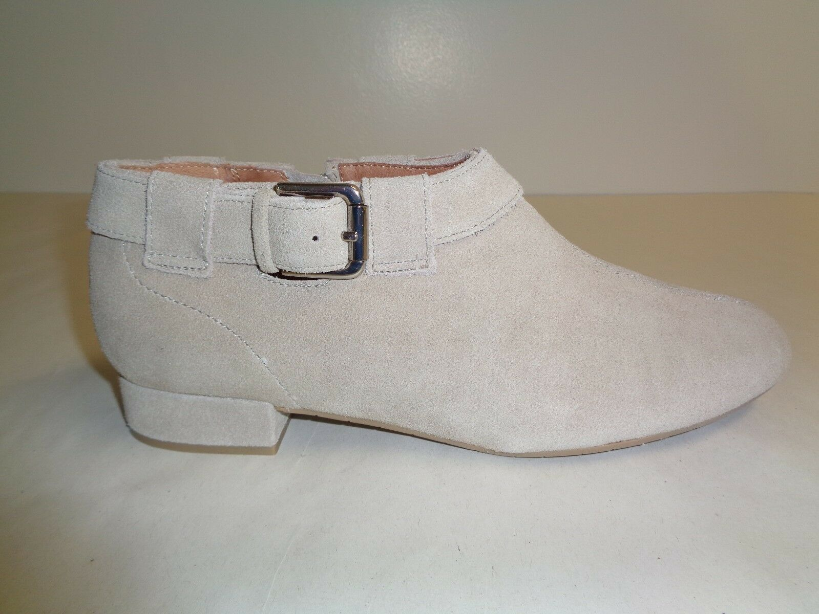 Nina Größe 7.5 DRENA PARCHMENT SPORT Tan Suede Ankle Stiefel NEU Damenschuhe Schuhes