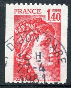 stamp-TIMBRE-FRANCE-OBLITERE-N-2104-TYPE-SABINE-ROULETTE