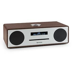 auna dab dab radio bluetooth usb mp3 cd player music audio hifi aux compact ebay. Black Bedroom Furniture Sets. Home Design Ideas