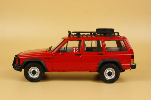 1/18 New China BJ jeep Cherokee 2500 model red color+ GIFT