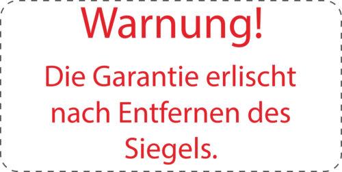 """VOID Sicherheitssiegel 40x20mm Label Aufdruck /""""Warnung!/"""" ES-VOID800"""