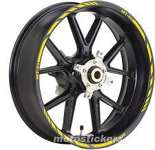 Adhesivos ruedas - adhesivos para ruedas racing YAMAHA MT-03 - pegatinas Ruedas