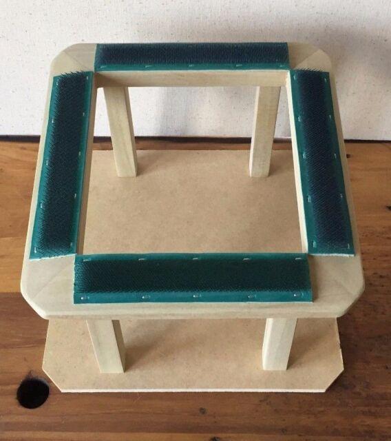 Gruber Lap Frame For Rug Hooking Punch