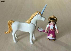 Détails sur Playmobil Chateau, féerique - le petite princesse et la licorne  Ref 4645
