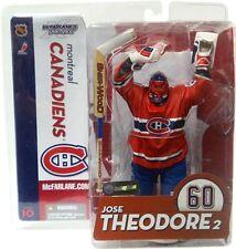 McFarlane JOSE THEODORE Chase série 1 sans Logo NHL NEW Nouveau en Emballage figurine gardien de but