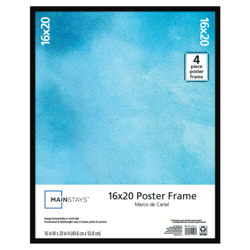 New Frame for Any Poster 16x20 inch Basic Poster and Picture Frame Black New