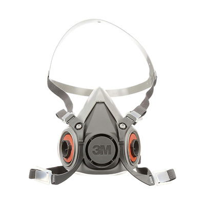 Reusable Facepiece Half Respirator aad Ebay Medium 07025 51131070257 3m™ 6200