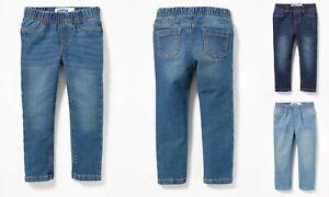 NWT-Old-Navy-Skinny-Pull-On-Jeggings-Denim-Jeans-Pants-Toddler-Girls-3T-4T-5T