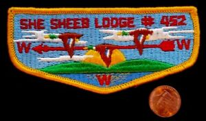 SHE-SHEEB-LODGE-452-OA-POTTAWATTOMIE-COUNCIL-IN-142-182-PATCH-GOLD-BORDER-FLAP