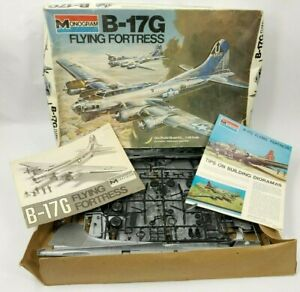 Monogram-B-17G-FLYING-FORTRESS-1-48-Scale-Plastic-Model-Kit-5600