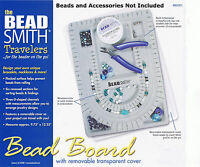 Bead Design Beading Board Gray Flock With Lid Beadsmith 9x13 Inches