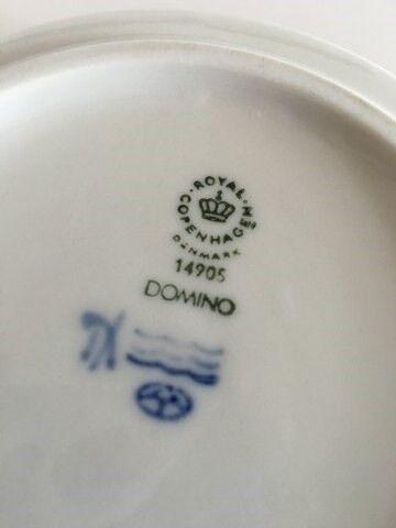 Andet, Royal Copenhagen Domino Rund Asiet #14905, Royal