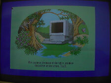 Apple llgs iigs RGB converter + VGA monitor cable +llgs speciifiic RGB adapter