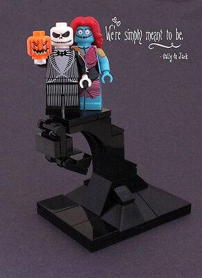jack skellington sally minifigure nightmare before christmaslego pumpkin v2