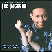 1 of 1 - Joe Jackson - This Is It! The A&M Years (1997  2 CD SET) NEW AND SEALED