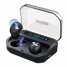 Otium Wireless Earbuds Bluetooth 5 0 Headphones With Digital Intelligence Led For Sale Online Ebay