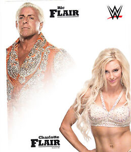 2017-WWE-WWF-ISSUE-PROMO-CARD-PHOTO-RIC-amp-CHARLOTTE-FLAIR-NATURE-HALL-OF-FAME