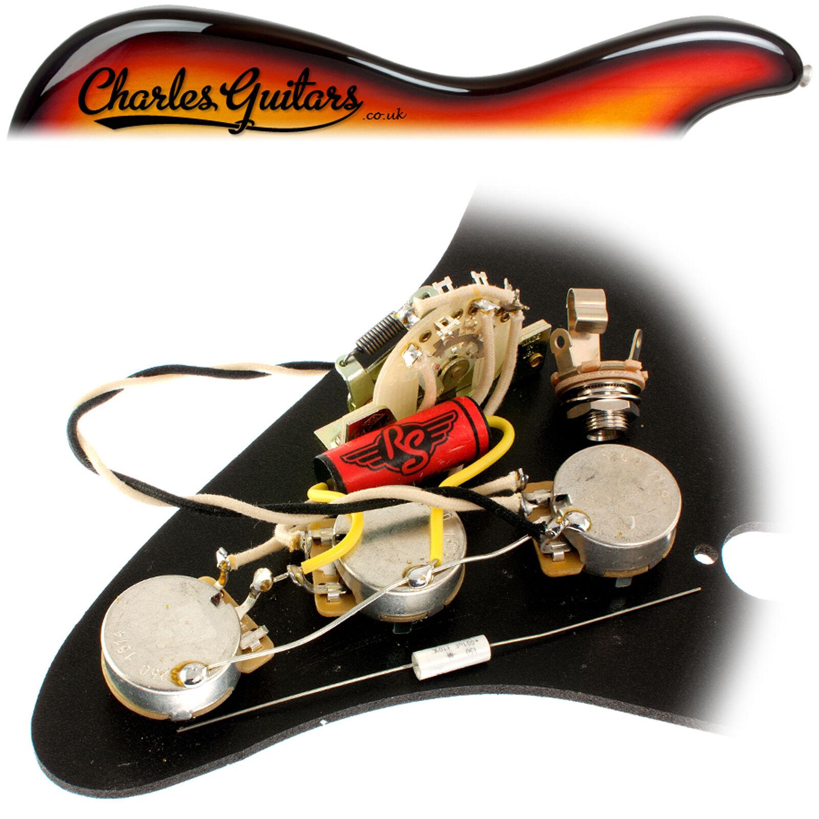Rs Guitarworks Strat Klassischer Vorverkabelt Aufrüstsatz (RS16011)