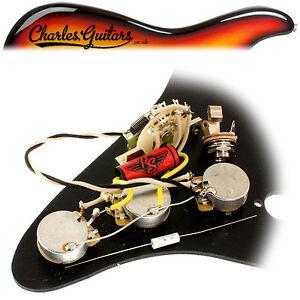 s l300 rs guitarworks strat vintage pre wired upgrade kit (rs16011) ebay