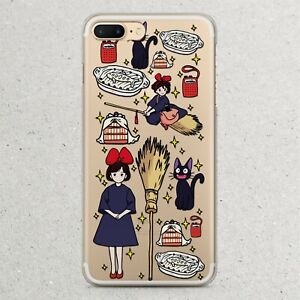 size 40 f3b80 e027a Details about Kikis Delivery Service Anime Phone Case iPhone 10x 10r Xr Xs  Max 8 7 6S 6 Plus X
