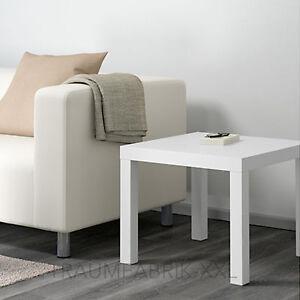 IKEA-LACK-Beistelltisch-in-weiss-55x55cm-Couchtisch-Sofatisch-Wohnzimmertisch-NEU