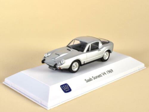 "Saab Sonett V4 Baujahr 1969 Serie /""Saab Car Museum/"" M = 1:43 von Atlas"