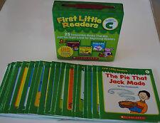 Lot 25 Level C First Little Easy Readers BOX SET Kindergarten Grade 1 Homeschool