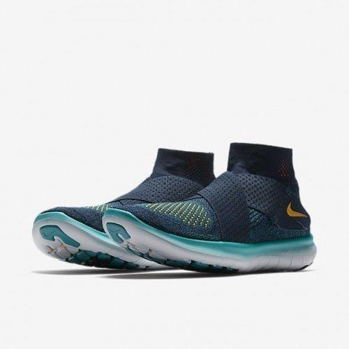 15ea49c569c0 Nike RN Motion Flyknit 2017 Men s Running Shoe 880845-402 Size 12 ...