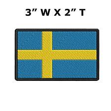 Emblem PATCH DENMARK FLAG 70 x 45 mm Country Scandinavia sewing