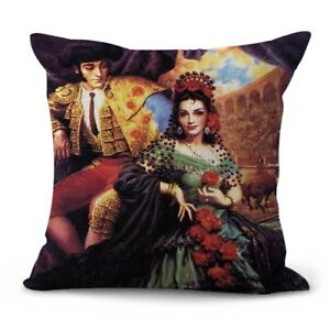 US SELLER Jesus Helguera classic Mexican art cushion cover decor pillow covers