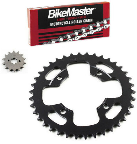 JT Chain//Sprocket Kit 14-38 Honda ATC200X 1986-1987