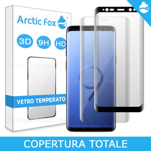 Pellicola Protettiva Vetro Temperato Curvo 3D Display Samsung Galaxy S9/S9+ PLUS