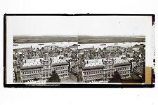 Panorama d'Anvers Antwerp Belgique Plaque stéréo par Lachenal & Favre ca 1865