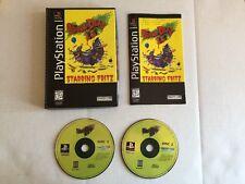 Brain Dead 13 Sony PlayStation 1 (black Label ) RARE LONG BOX