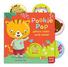 Tiny Tabs: Pookie Pop Plays Hide and Seek by Nosy Crow (Board book, 2013)