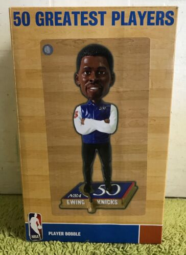 NBA 50 plus grands joueurs Player Bobble Patrick Ewing #50
