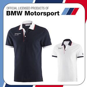 new bmw motorsport m sport m3 m5 mens team polo shirt 100. Black Bedroom Furniture Sets. Home Design Ideas