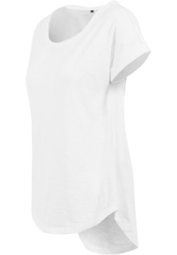 Damen Long Slub Tee T-Shirt Pocket Animal Unicorn Taschenhorn Einhorn cutie