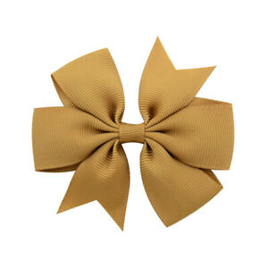 Girls-Baby-Kids-Bowknot-Headwear-Hair-Bow-Women-Hair-Clip-Pin-Accessories