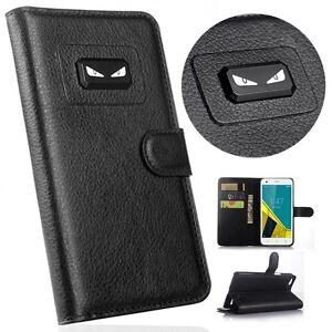 Angry-eyes-Book-Flip-Leather-Wallet-Magnetic-Case-Cover-For-Samsung-Galaxy-Model